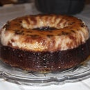 Magic Choco-Flan / Chocolate Cake and Flan
