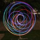 Long Exposure Light Sculpture