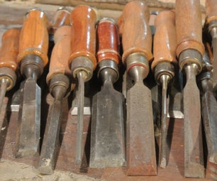 Sharpening Chisels Without Honing Guide