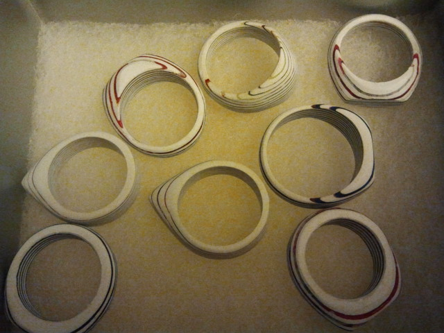 Picture of Recycled Gift Card Rings