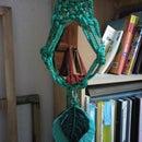 Macrame Mirror Hanger Feat. IKEA Honefoss Mirror