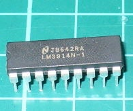 Using the LM3914 Dot/Bar Display Driver IC