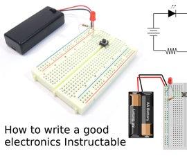 如何写一个好的电子学教程