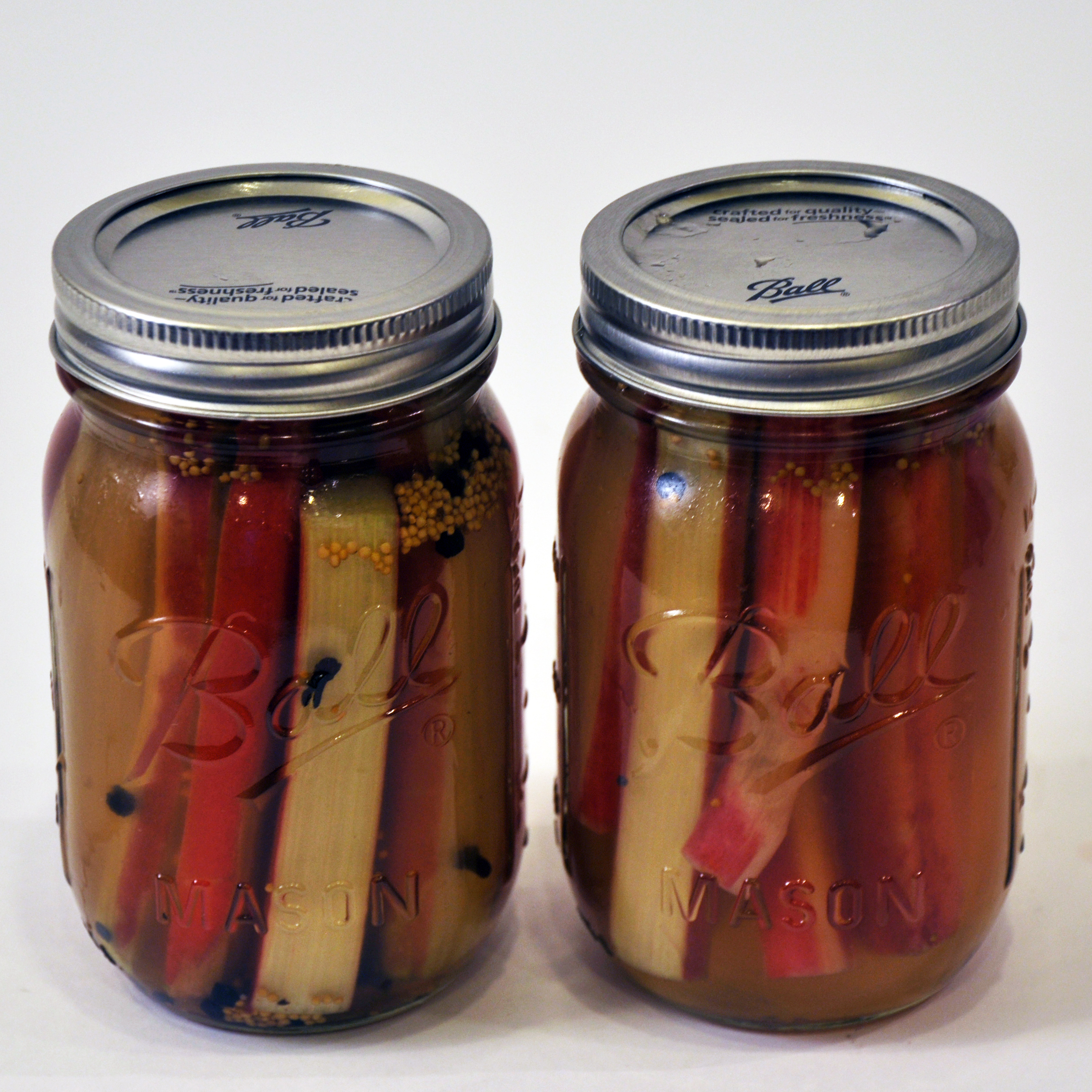 Picture of Pickled Rhubarb Recipe