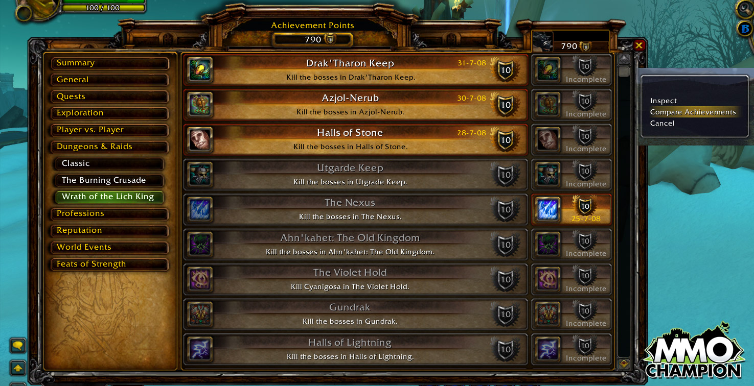 "Picture of How to Complete the WoW ""Going Down?"" Achievement"