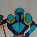 Drawing Shovel Knight