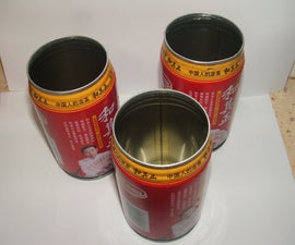 Drinking Glasses from Cans