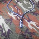 Break Away Paracord Lanyard with side release buckle and swivel snap clasp (4 Color)