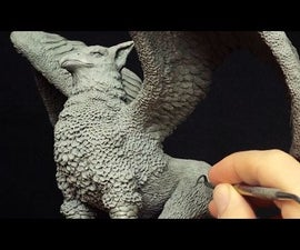Making a Griffin Sculpture in Polymer Clay