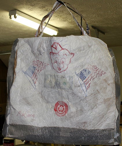 Make Your Own Plastic Tote Bag From Recycled Plastic Bags