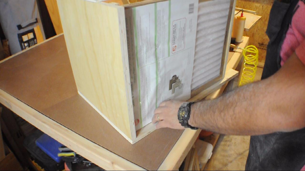 Picture of Attaching the Filter Frames