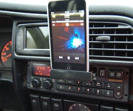 Autoradio Cassette Player  [ipod Hack]