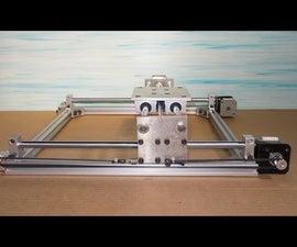 Homemade RepRap Prusa 3D Printer DIY X Y Axis Slide Linear Engraving Plotter Laser Frame
