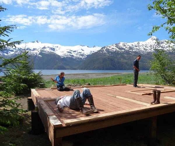 How to Build a Cabin Foundation in a Remote Location