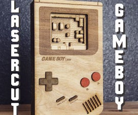 Laser Cut Gameboy