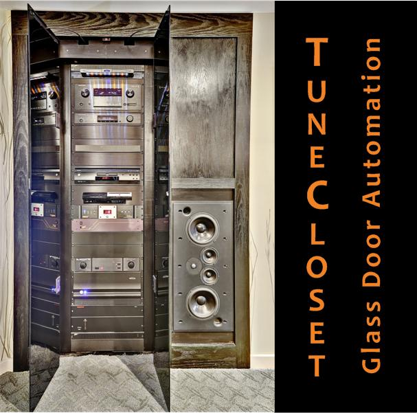 Picture of TuneCloset Glass Door Automation