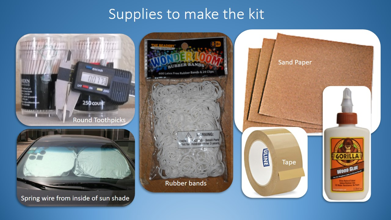Picture of Bill of Materials to Build the Kit