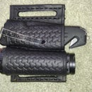 Flashlight and Pocket Knife- Batman Belt Sheath
