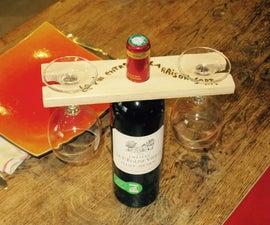 Glass wine holder