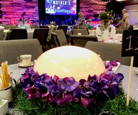 LED Color Changing Flower Centerpiece