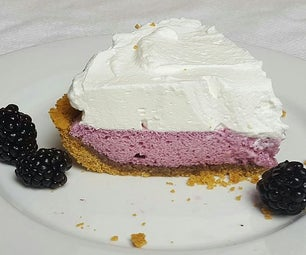 Blackberry Chiffon Pie