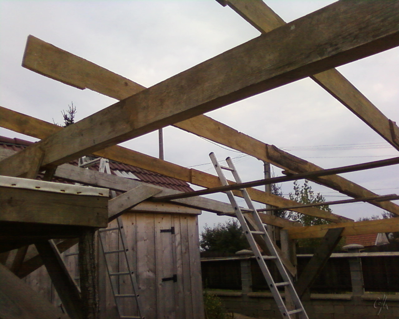 Picture of Installing the Rafters