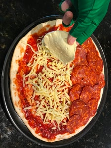Savory Pokeball Pizza