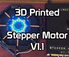3D Printed Stepper Motor V1.1