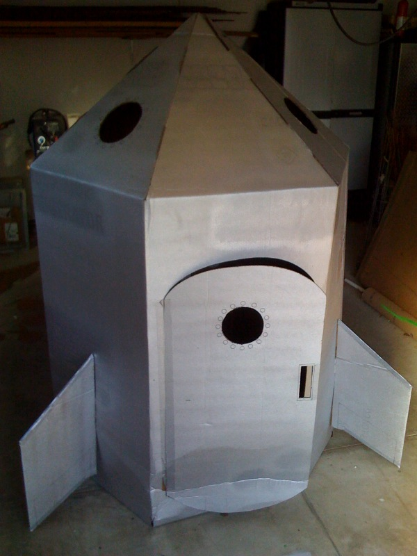 Picture of How to Build a Cardboard Rocket Ship