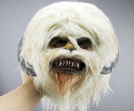 Wampa Star Wars Faux Taxidermy Mount