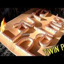 "Twin Peaks Tribute - ""Who killed Laura Palmer?"" - matches fire domino"