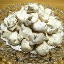 Little Foam Cookies - Aunt Mary's old recipe