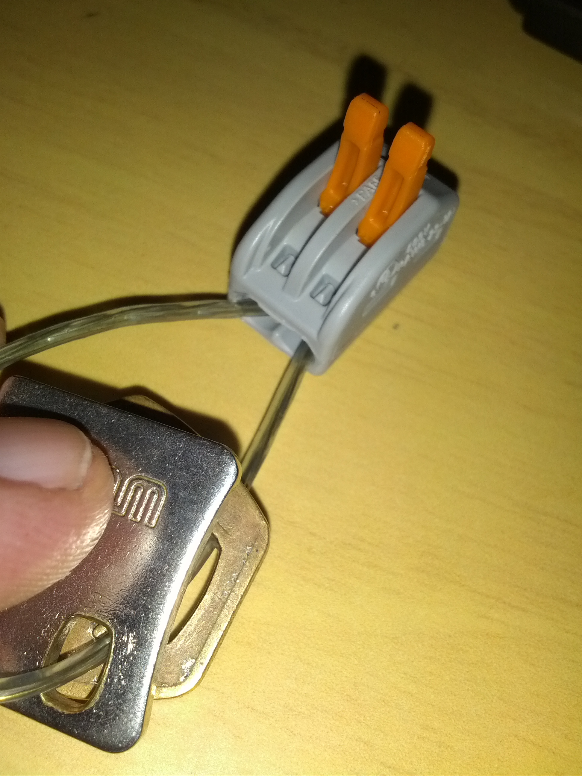 Picture of Assembling the Keychain