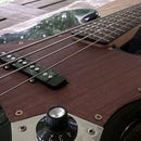 Wood Pickguard for Electric Bass
