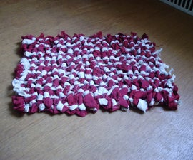 Rag Rug - Extremely Easy to Make