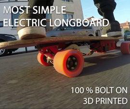 Easy DIY 3D Printed Electric Longboard!
