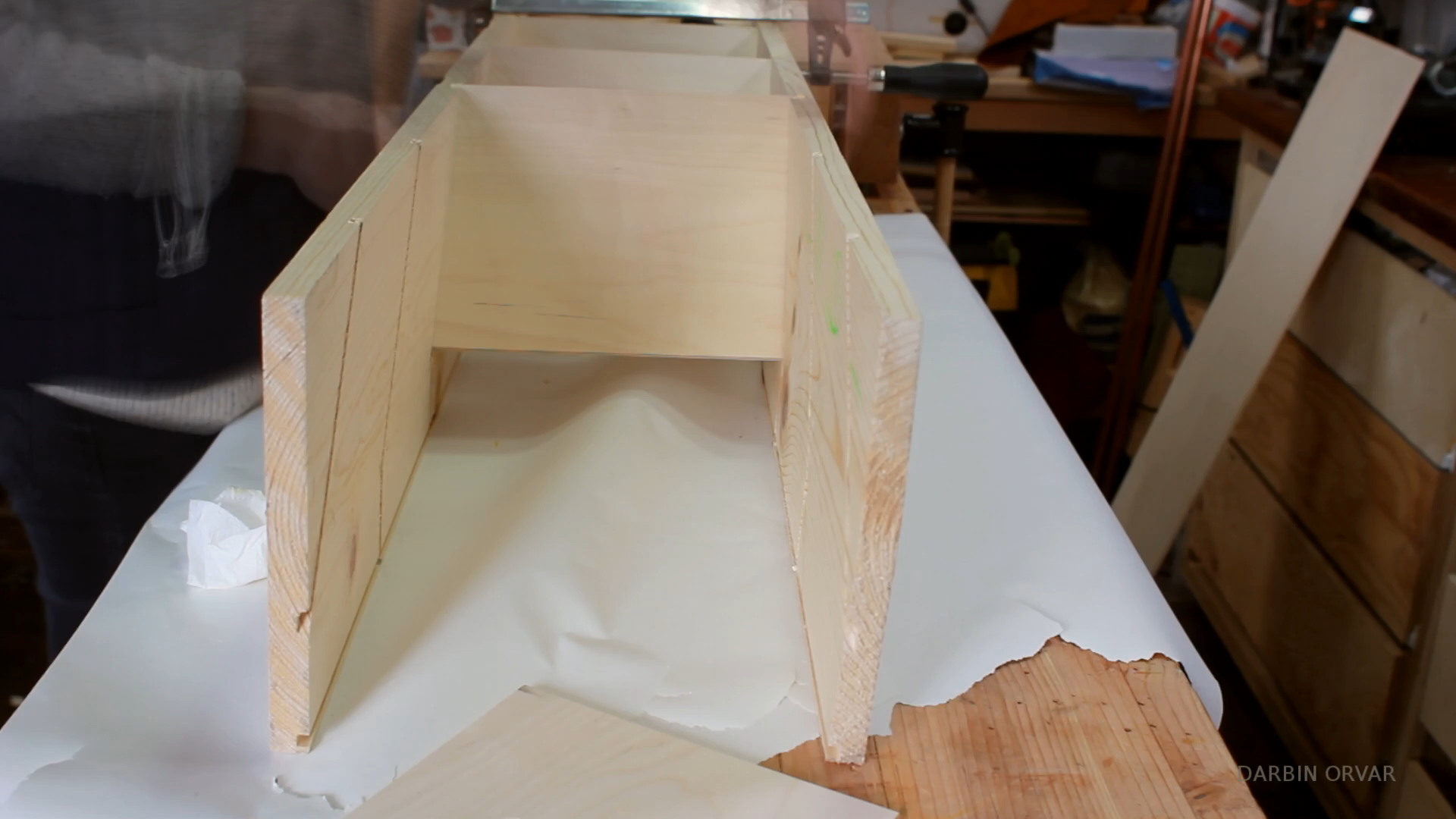 Picture of Dry Fit & Gluing
