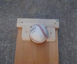 Baseball practice pad