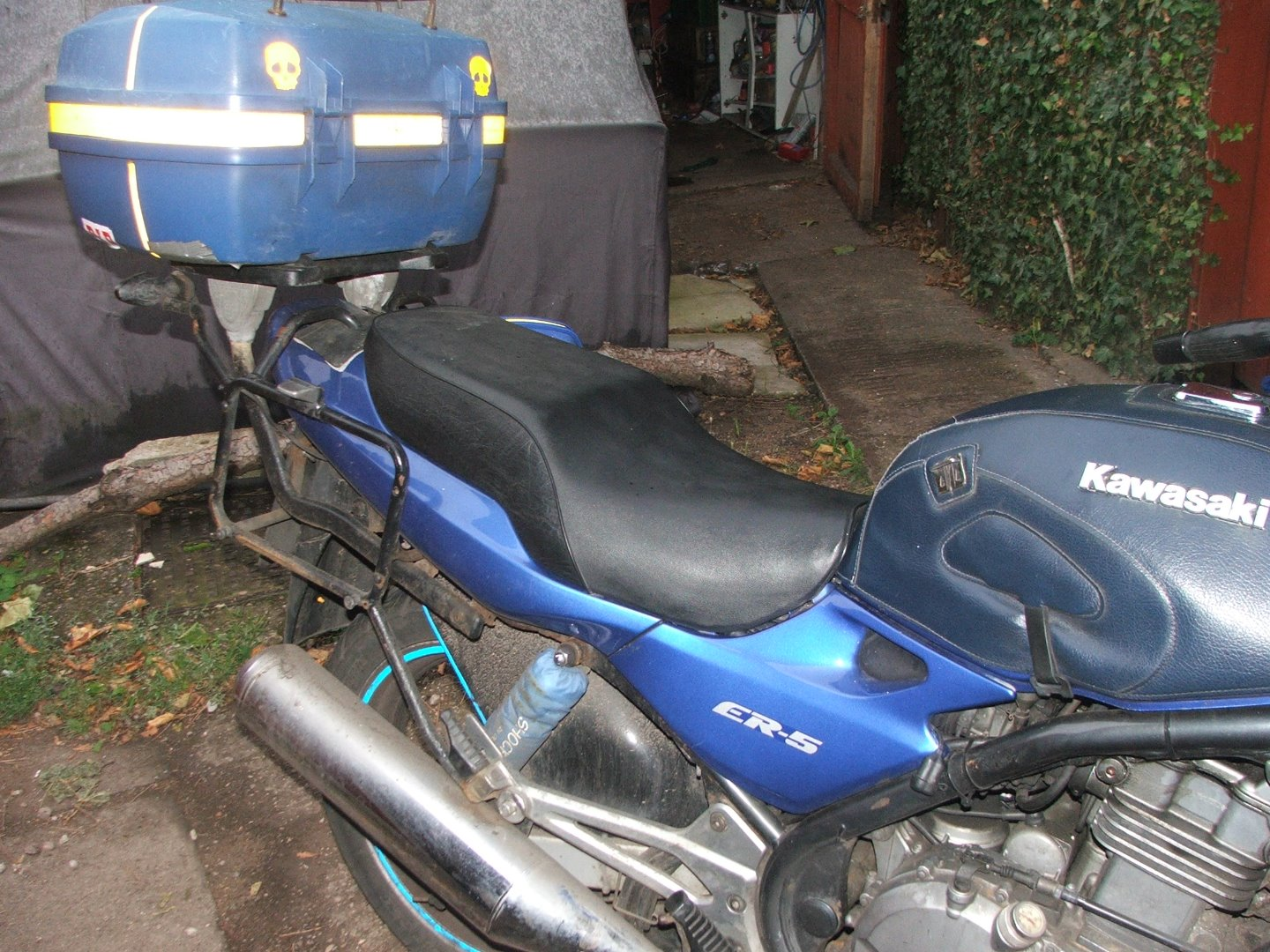 Picture of Recovering a Motorcycle Seat