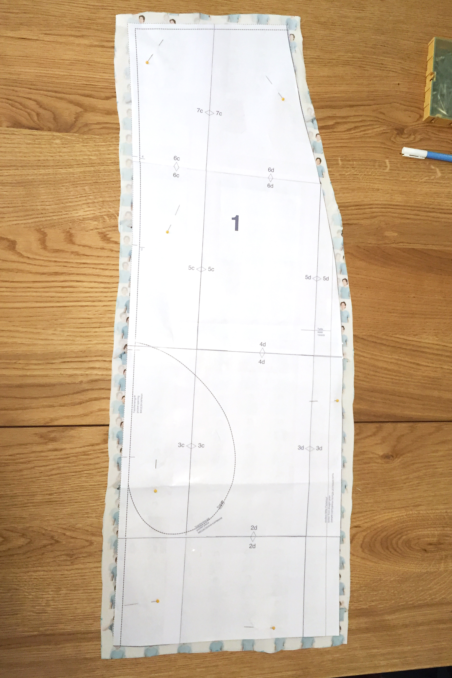 Picture of Cut Out the Fabric