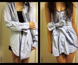 No sew Shirt