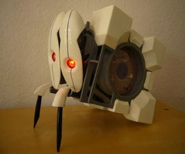 Frankenturret (Portal 2) with twitching legs