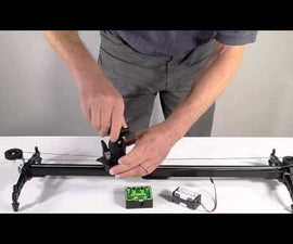 Motorized Video Camera Slider