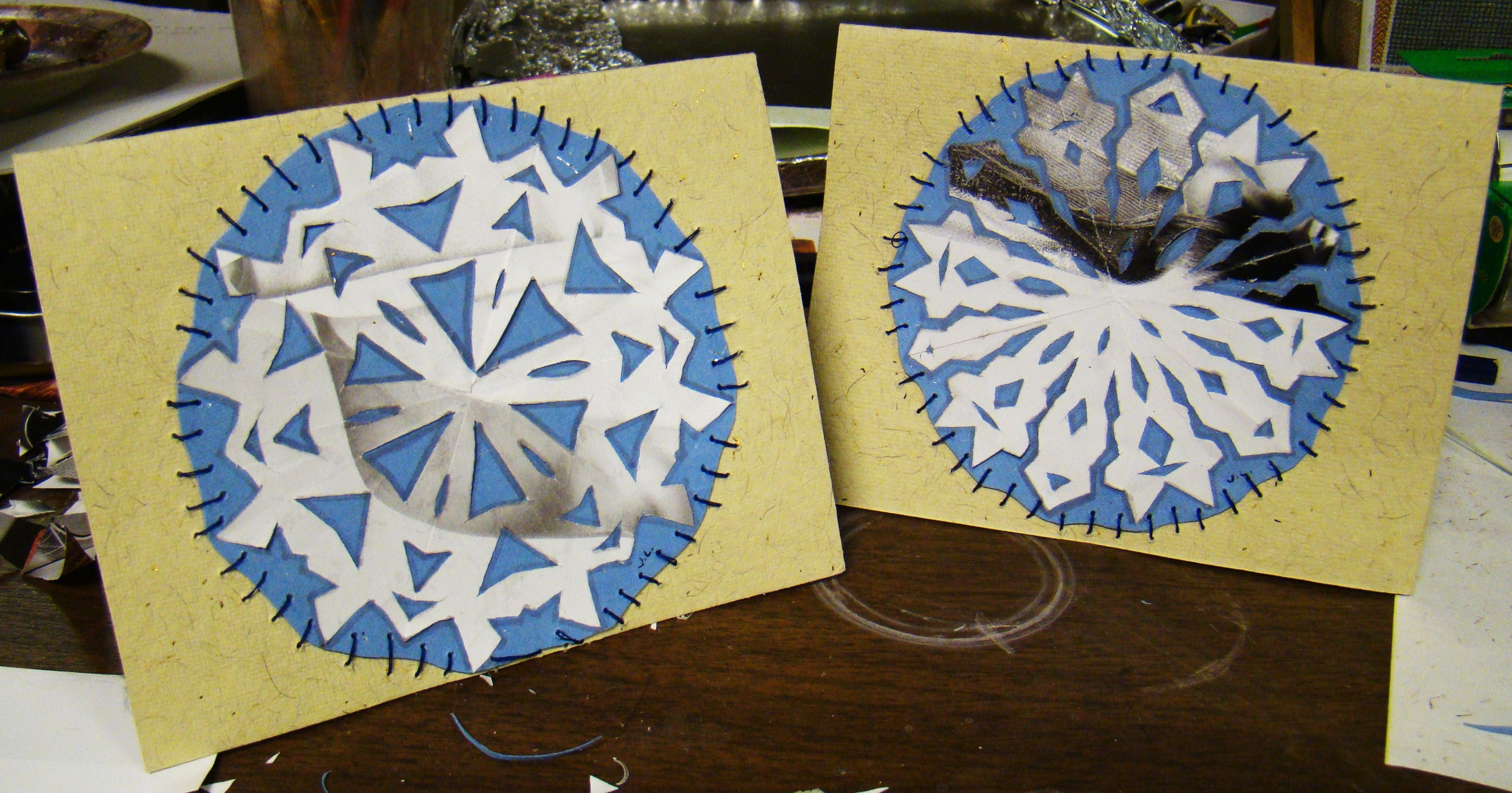 Picture of Snowflake Card