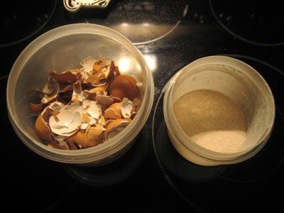 Prepare the Eggshells
