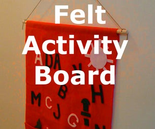 Hanging Felt Activity Board