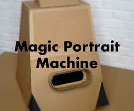 Magic Portrait Drawing Machine
