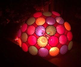 Plastic Cup Sphere Light