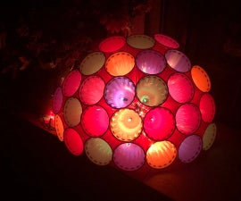 Plastic Cup Sphere Light