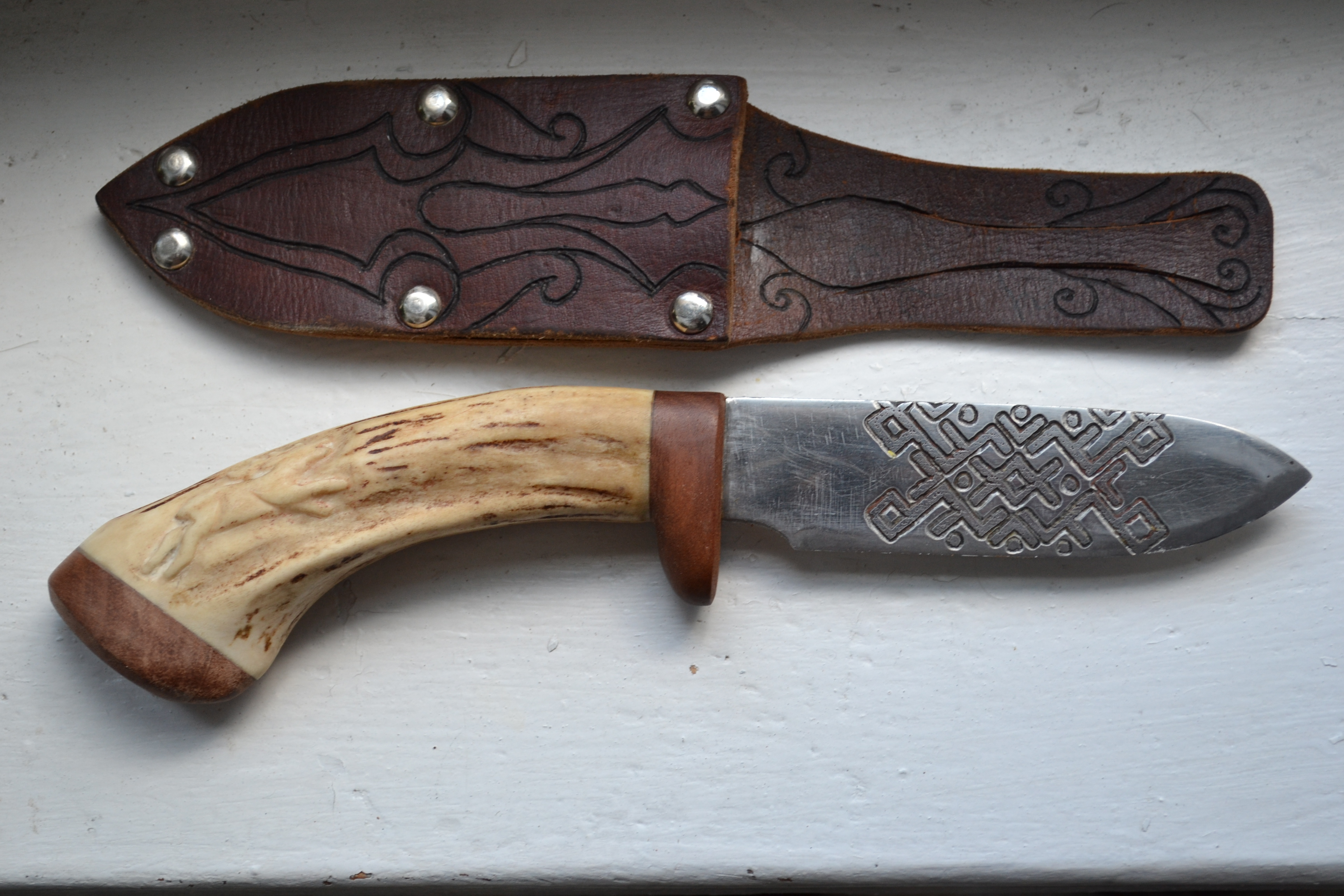 Picture of Completion of the Knife